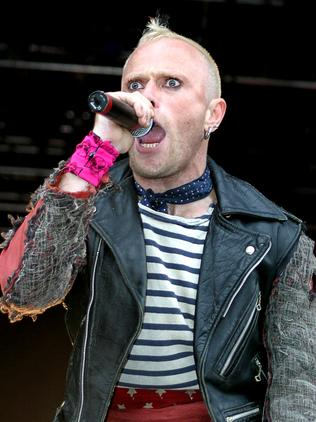 Keith Flint was a magnetic presence on stage. Picture: Matrix
