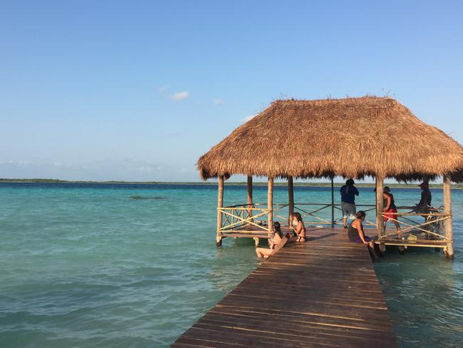 Laguna Bacalar: Even more magic than the rumours. Picture: Alissa Jenkins