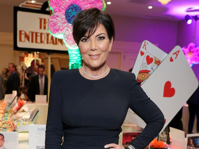 Kris Jenner was very, ahem, 'hands on' during her granddaughter's birth. Picture: Getty