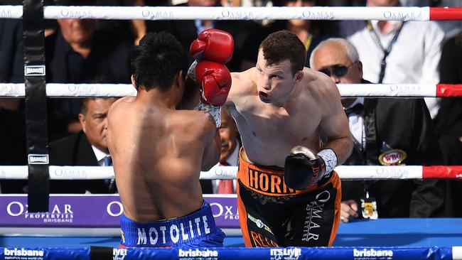Jeff Horn takes down a legend.