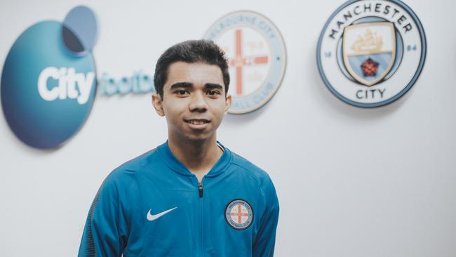 Marcus Gomes - Melbourne City's newest signing.