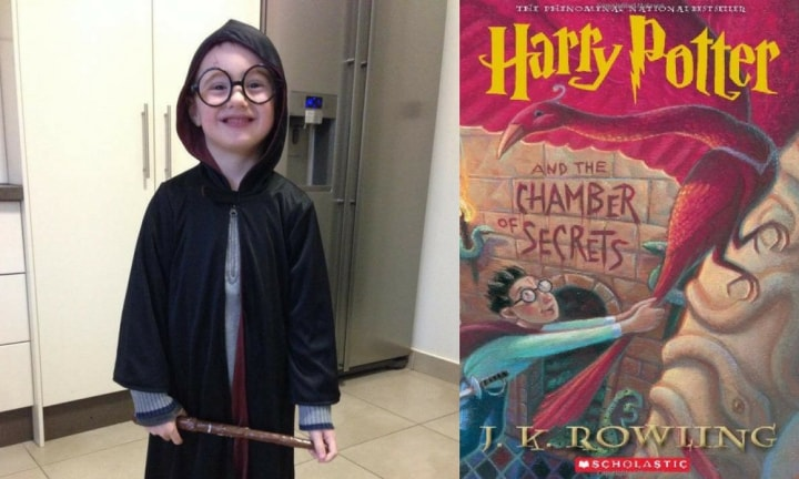 HARRY POTTER. Here's another one that we think will be popular for many years to come. All you need is a cape, some fake glasses, a drawn-on scar and you're set to go!