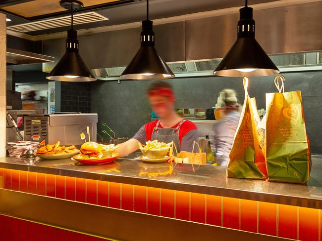 Nandos North Hobart is one of the best performers in Australia.