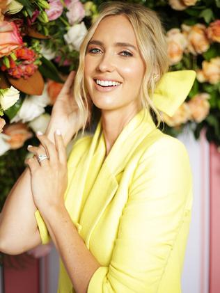 Nikki Phillips at the Moet and Chandon Spring Champion Stakes Day held at Royal Randwick racecourse. Picture: Christian Gilles