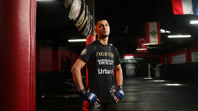 Alex Gorgees seems to have been fighting all his life. (Richard Dobson)
