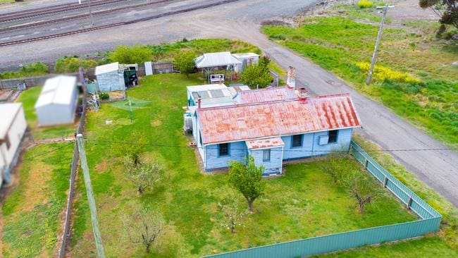 1296 Midland Highway, Gheringhap could be Geelong's cheapest house if it sells at auction in November.