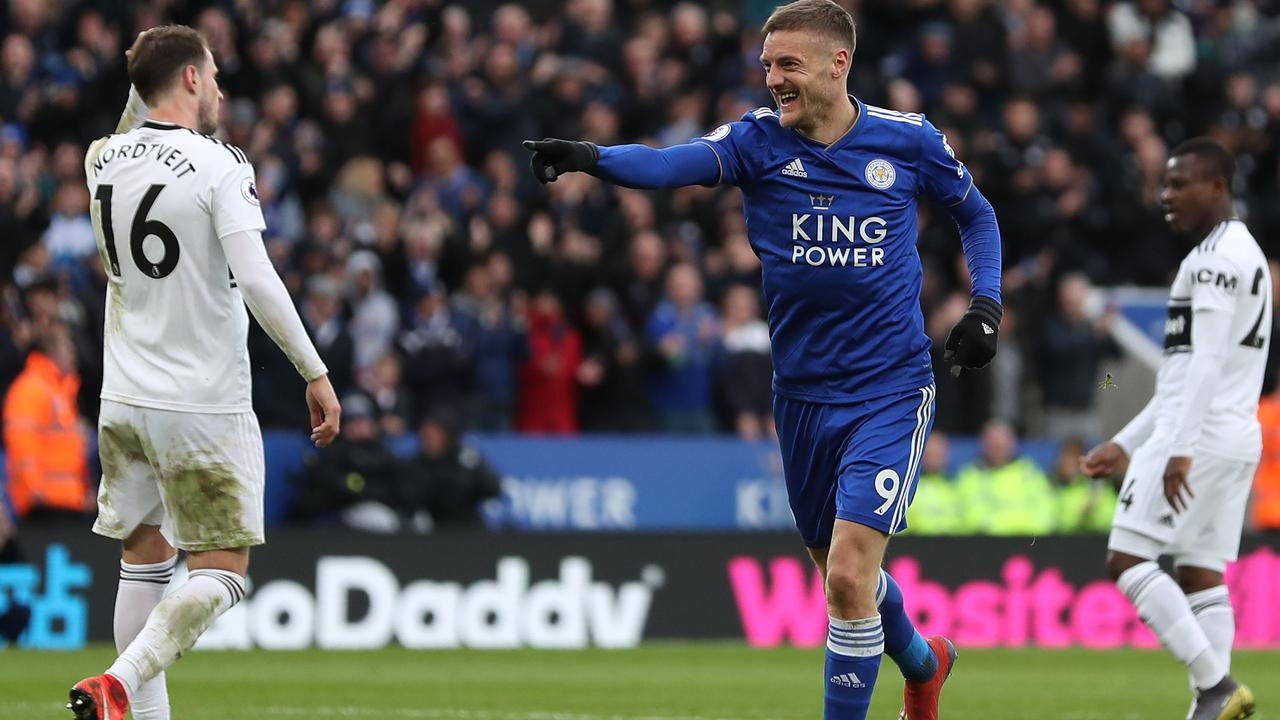 Fulham are close to relegation after losing to Leicester.