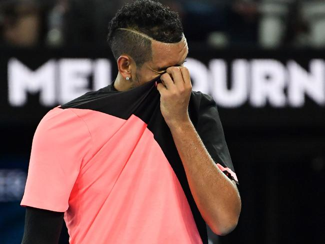 Kyrgios can combust at any moment.