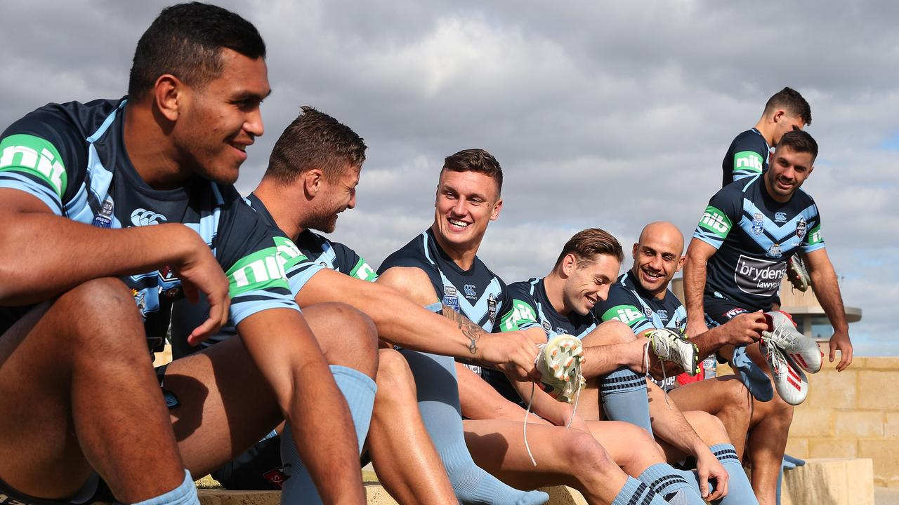 Brad Fittler has shaken things up for Origin II with Jack Wighton moving to the centres. Picture: Brett Costello