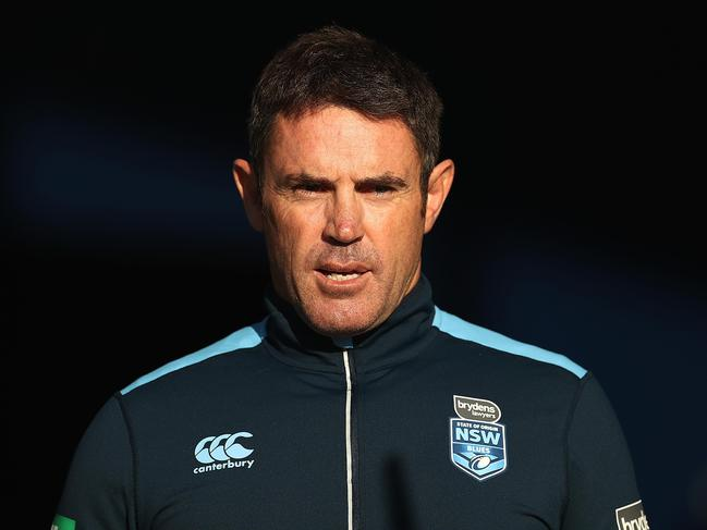 Brad Fittler wasn't happy with the sex tape allegations.