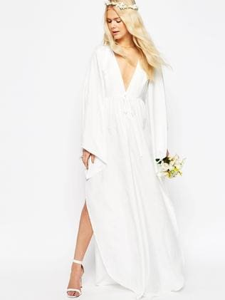 For just $253 this wedding dress is a click of the mouse away at ASOS.