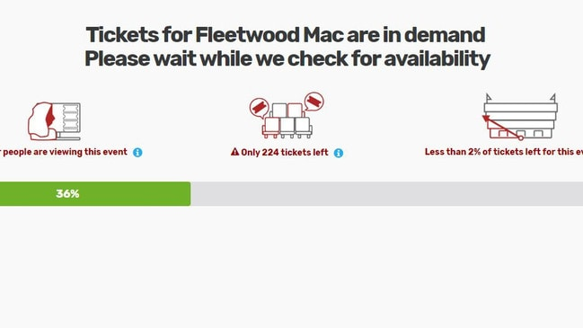 "Multiple prompts appear on Viagogo's website telling you tickets are ""in demand"". But you have to hover over the little blue dots to see all is not what it may seem at first glance."