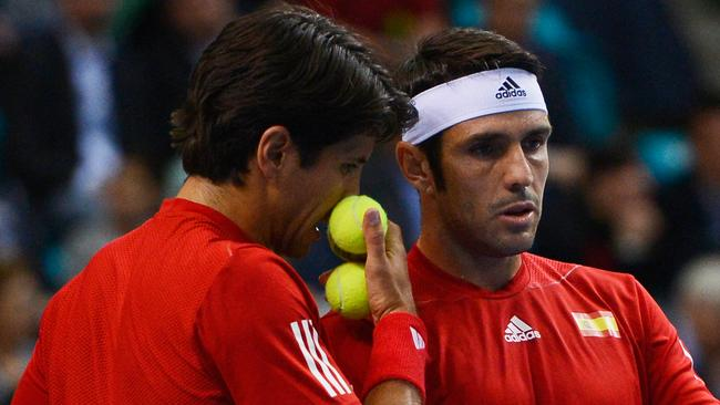 544e8da5278 THE Spanish men's doubles team of Fernando Verdasco and David Marrero are  being investigated for suspected match-fixing in a first-round contest at  ...