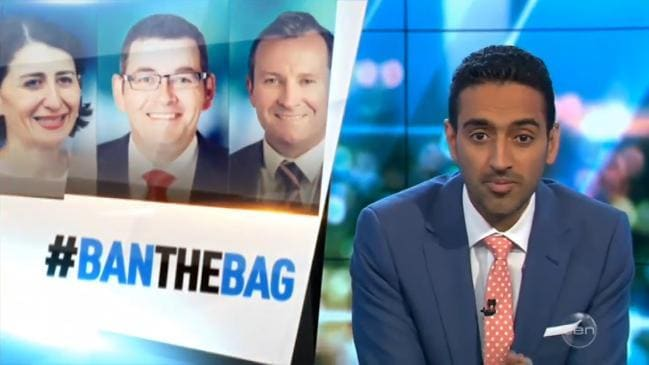 The Project calls on Aussies to #BanTheBag