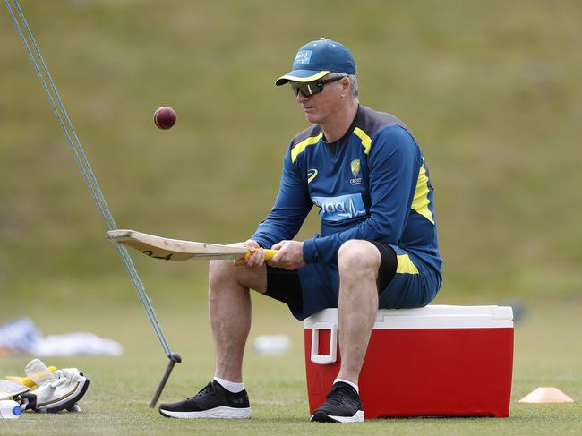 Steve Waugh still can't put down his bat. (Photo by Ryan Pierse/Getty Images)