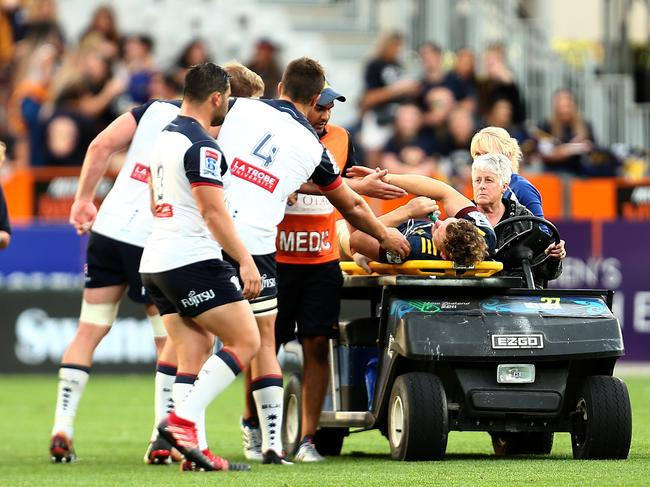 The Highlanders showed some heart after the sickening injury.
