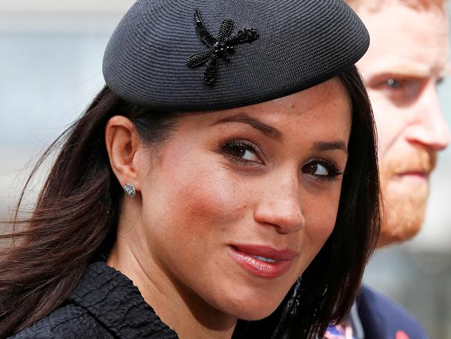 The honeymoon seems to be over for Meghan, who has been dubbed 'Duchess Difficult' by the UK press. Picture: AFP/Adrian Dennis