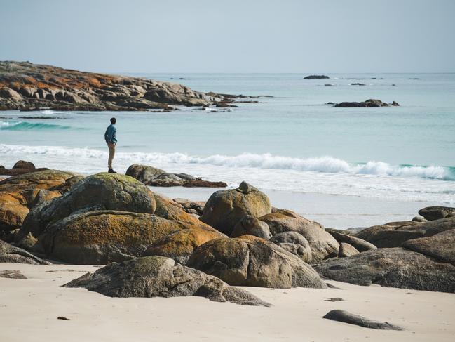 Glorious isolation: Martha Lavinia beach