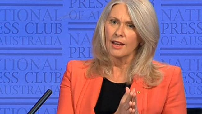 At the National Press Club today, Tracey Spicer apologised but said only the ABC could answer why the identities hadn't been masked.