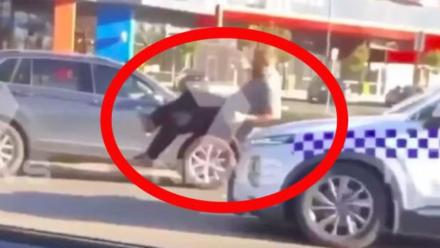 Police hit Victorian man with car before stomping on his head video reveals – NEWS.com.au