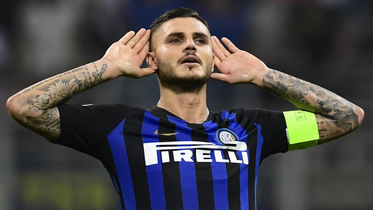 Mauro Icardi. (Photo by Miguel MEDINA / AFP)