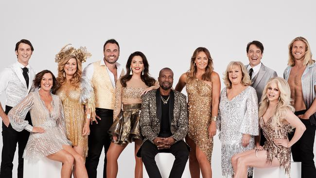 Thorburn (second from left) is set to appear in the new season of  <i>DWTS</i>. Picture: Ten