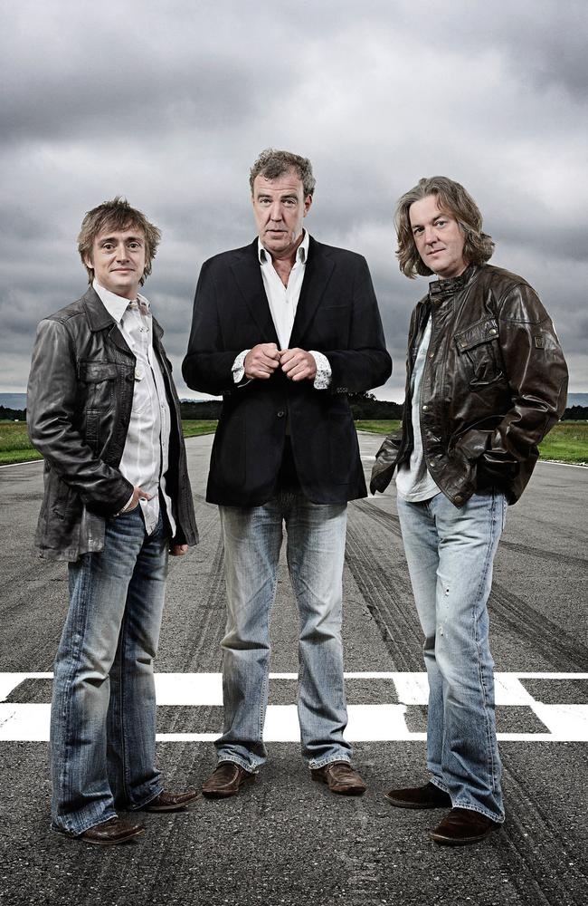 The trio back in their Top Gear days.