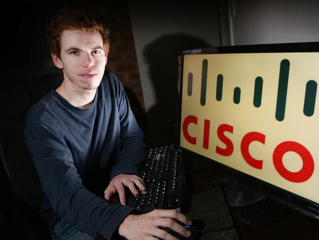Luke Munday was profiled by Cisco last year.