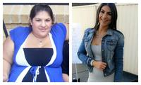 Woman sheds 65kg after stumbling across 'winning formula' for weight loss