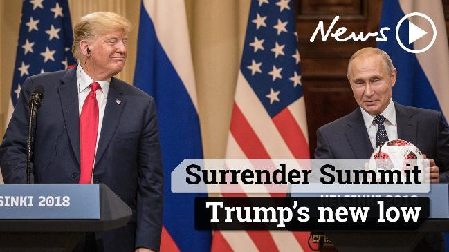 Surrender Summit: Trump's new low