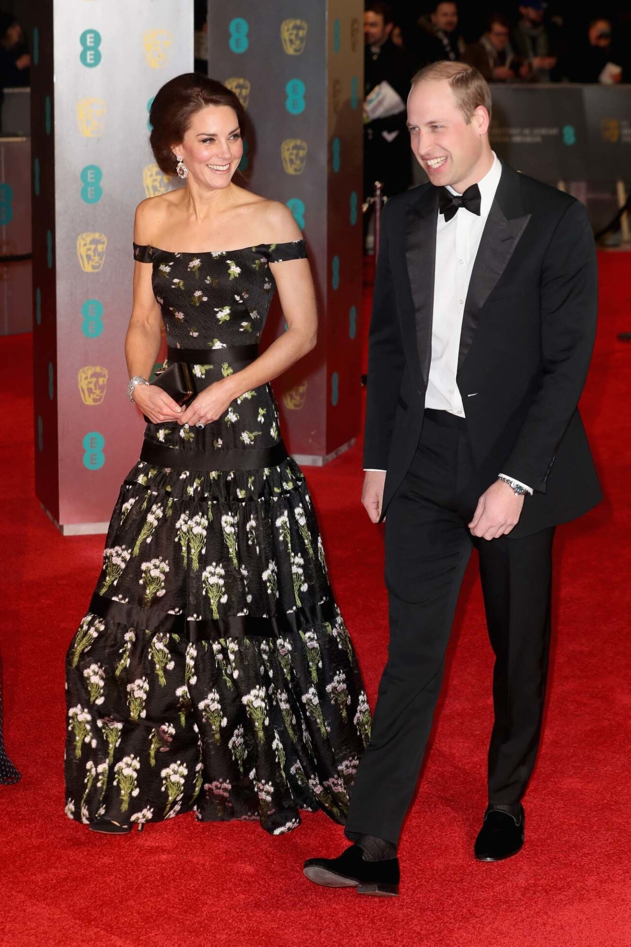 BAFTAs 2017: what they're wearing