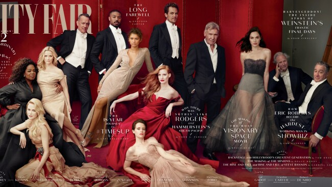 Remember this VF issue? Photo: Annie Leibovitz/Vanity Fair