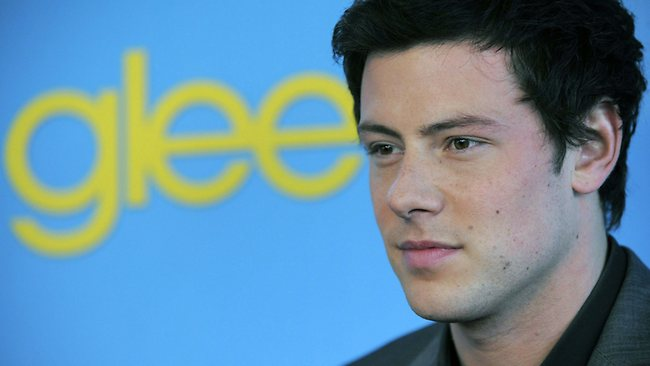 The Emmys will pay tribute to 'Glee' star Cory Monteith, who was found dead earlier this month of a heroin overdose. Picture: AP