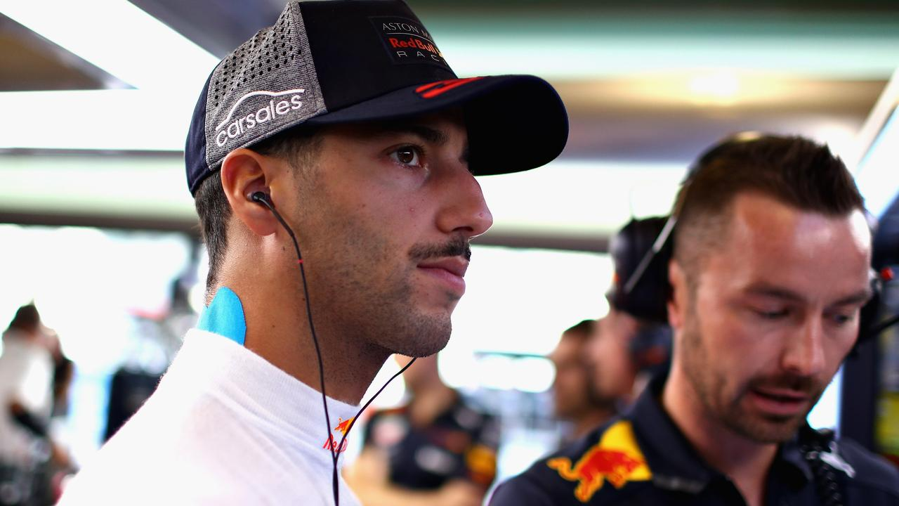 The Aussie's goal remains as it was at Red Bull: to win a world championship.