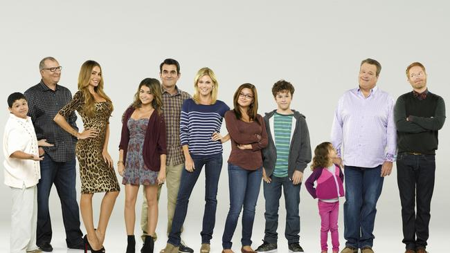The cast of Modern Family. Photo: Supplied