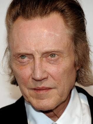 Actor Christopher Walken in 2009. Picture: Supplied