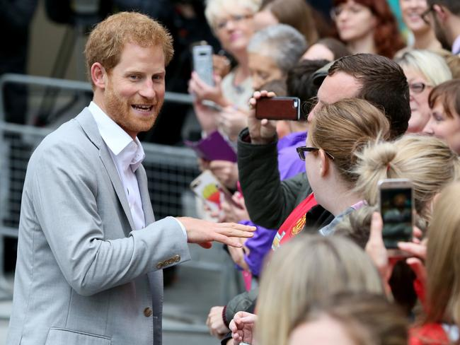 Prince Harry is said to have met the actress through friends in 2016. Picture: AFP/Paul Faith