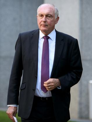 Warren Truss is yet to announce his future.