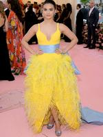 NEW YORK, NEW YORK - MAY 06: Camila Mendes attends The 2019 Met Gala Celebrating Camp: Notes on Fashion at Metropolitan Museum of Art on May 06, 2019 in New York City. Neilson Barnard/Getty Images/AFP == FOR NEWSPAPERS, INTERNET, TELCOS & TELEVISION USE ONLY ==