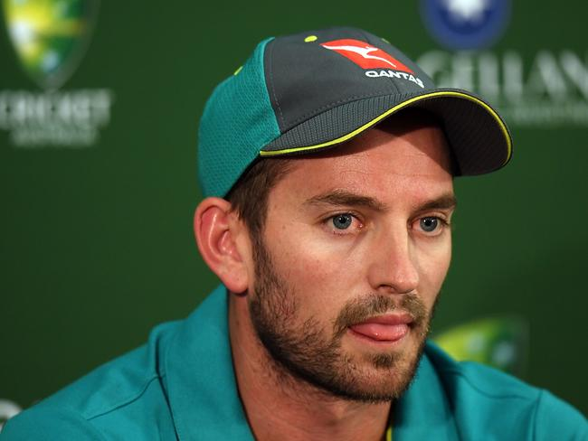 Chadd Sayers found out about being snubbed from the SA tour via social media.
