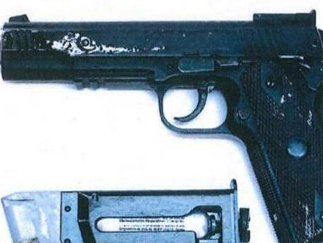 The gun the doctor allegedly used to threaten victim. Picture: Aftonbladet.se