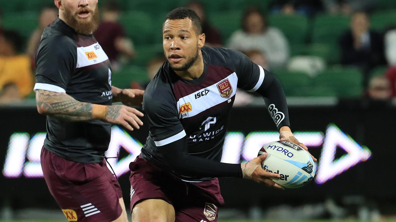 Moses Mbye suffered a severe allergic reaction in the Maroons team hotel.
