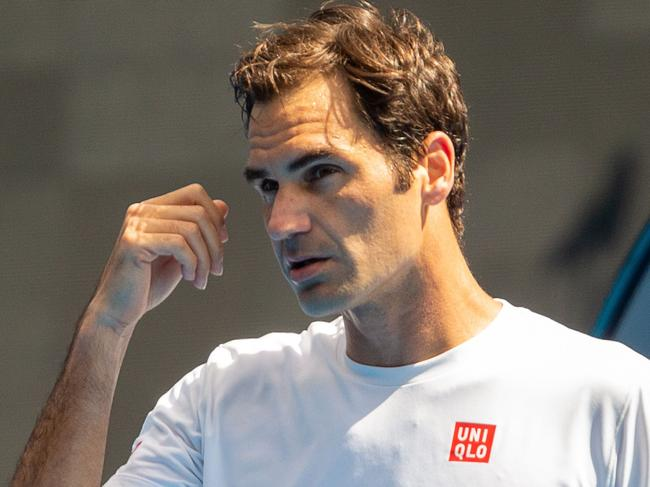 Roger Federer signed a $300 million deal with Uniqlo after 20 years with Nike. Picture: Asanka Brendon Ratnayake/AFP