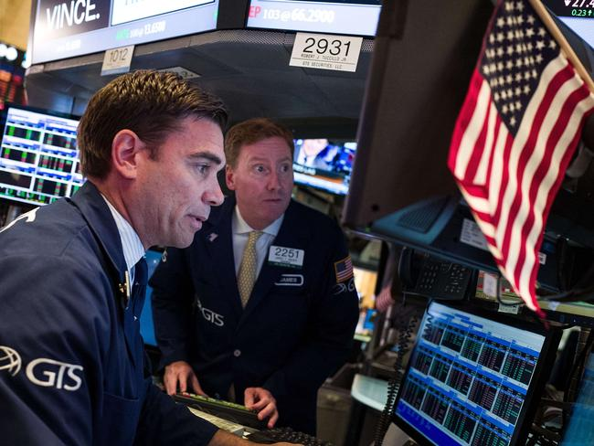 Traders bracing for the Brexit outcome at the New York Stock Exchange.
