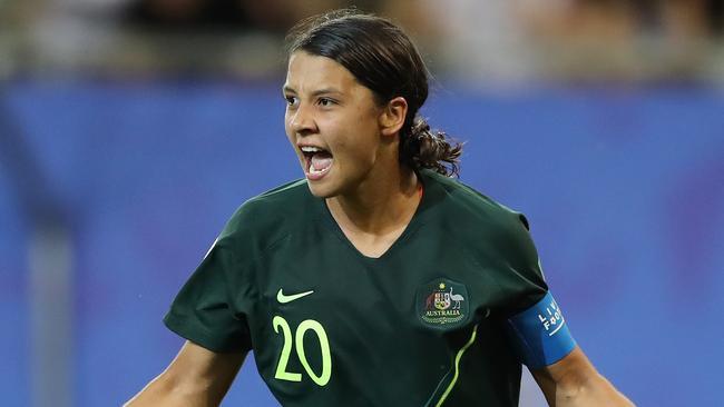 Praise for Sam Kerr after her four-goal heroics against Jamaica