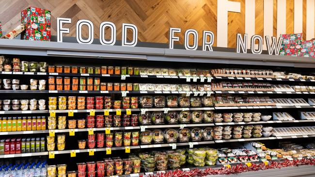 'Food for now' available at the Eastgardens Coles in Sydney.