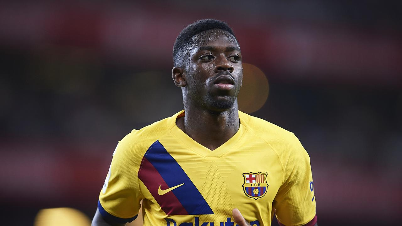 Dembele has failed to make an impression since his arrival at Barcelona