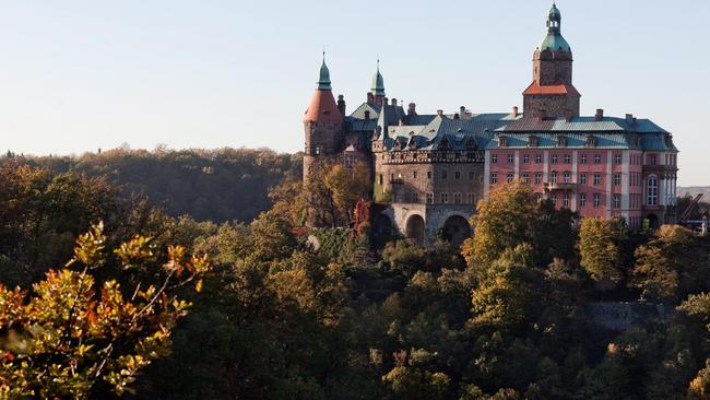Ksiaz Castle in Walbrzych, Poland, about 10km from the Polish-Czech border. Picture: AFP / PAP / Maciej Kulczynski