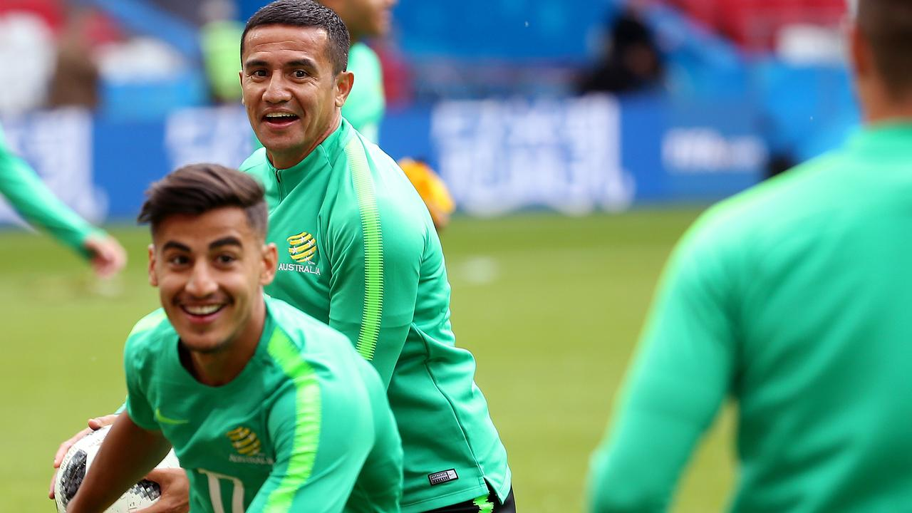 Daniel Arzani has barely played since Australia's World Cup campaign ended.