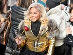 Lil' Kim arrives at the runway for the Marc Jacobs Fall 2017 Show at Park Avenue Armory on February 16, 2017 in New York City. Picture: Getty